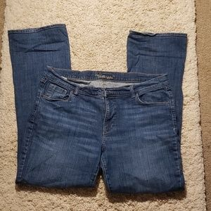 Women's Boot Cut Old Navy Sweetheart Jeans size 16